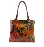 Damare Flor Delfina - schoudertas - bloemenprint
