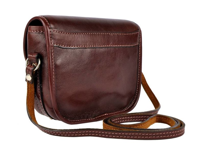 Los Robles Polo Time Chas - across bag - brown