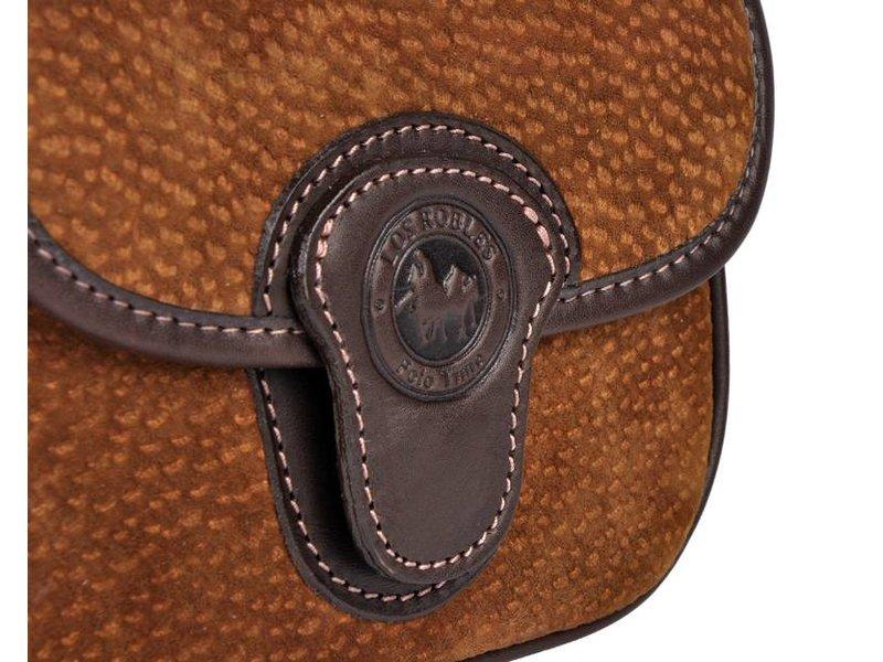 Los Robles Polo Time Chas - schoudertas - carpincho - bruin