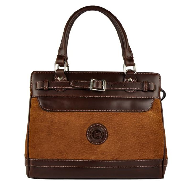 Los Robles Polo Time Floresta - handbag - carpincho - brown