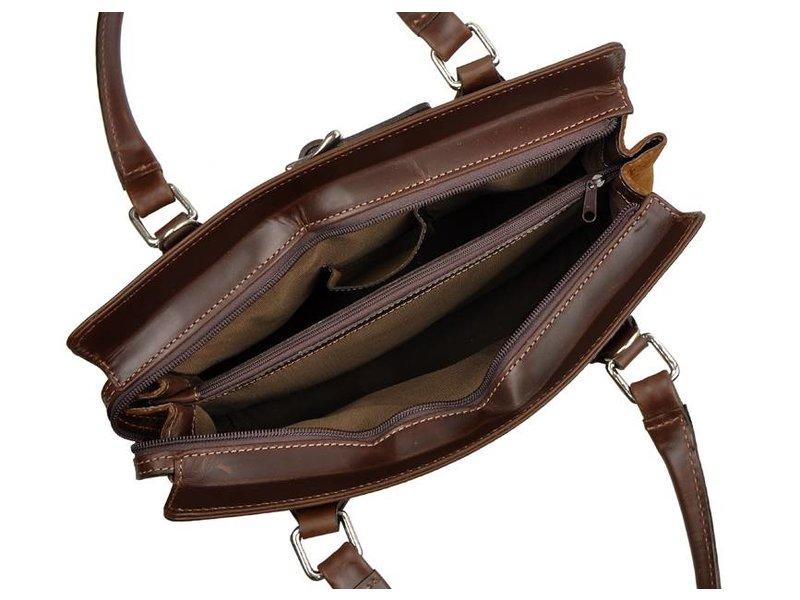 Los Robles Polo Time Floresta - handbag - carpincho - brown
