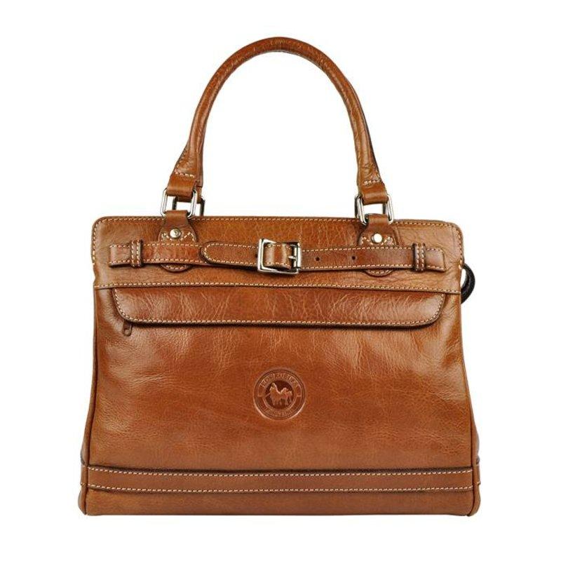 Los Robles Polo Time Floresta - handbag - brandy