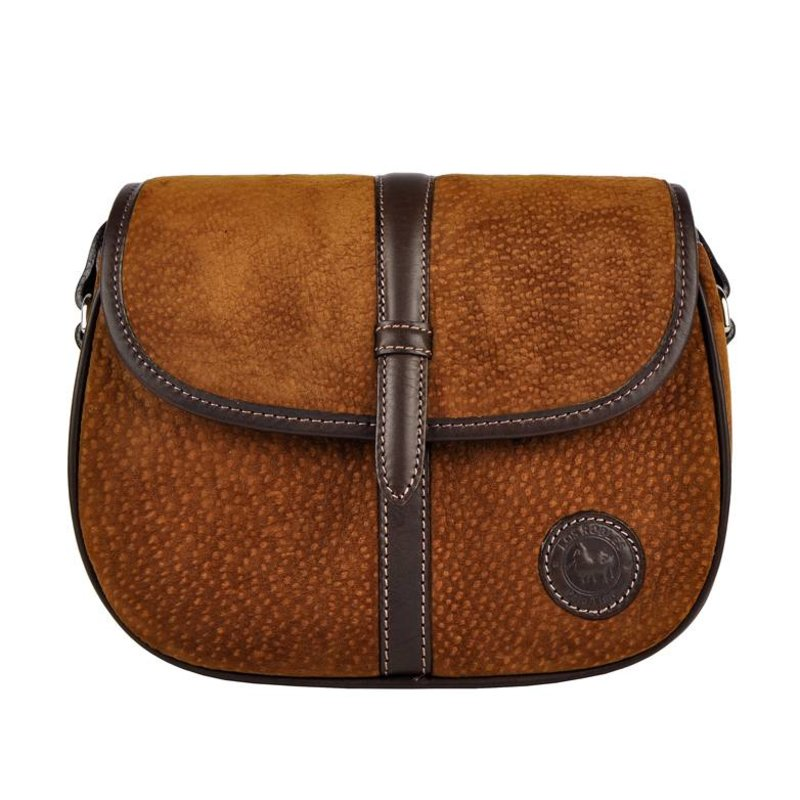 Los Robles Polo Time Monte Castro - crossbody bag -carpincho - brown