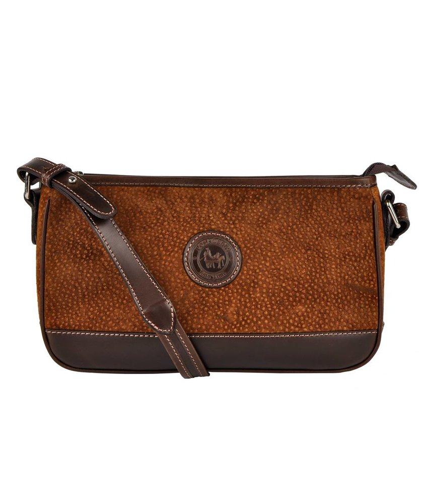 Los Robles Polo Time Patagonia - shoulder bag - carpincho - brown