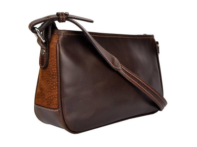 Los Robles Polo Time Patagonia - shoulder bag - carpincho - brown
