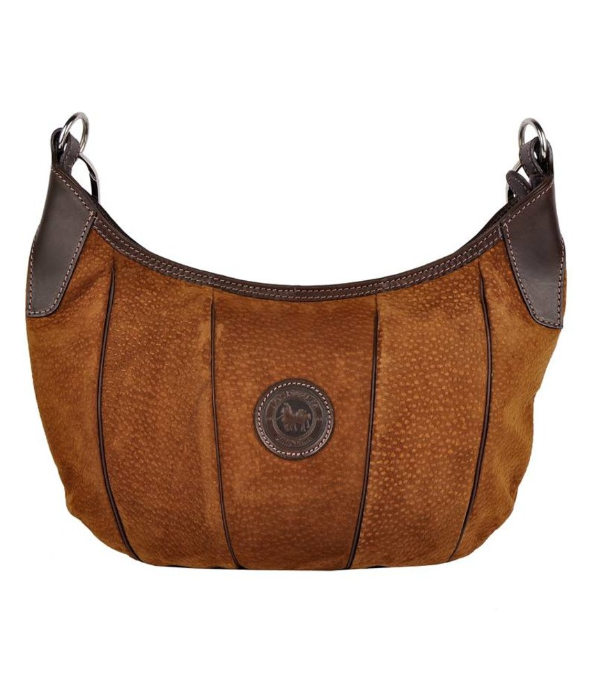 Los Robles Polo Time Belgrano - shoulder bag - carpincho - brown