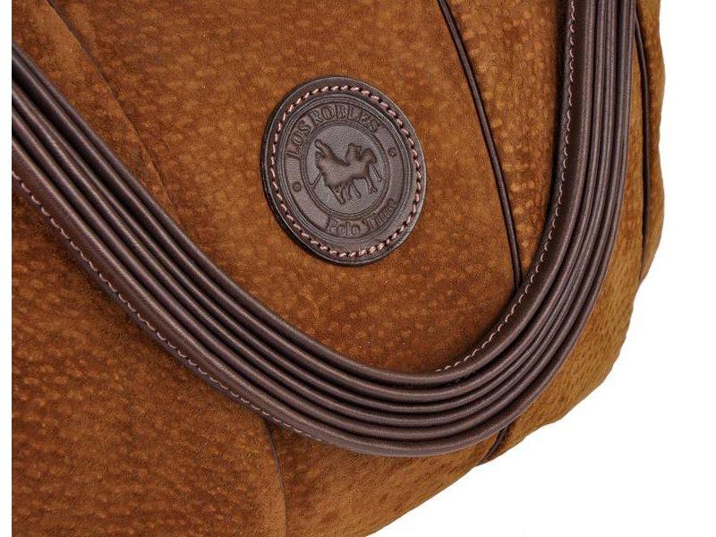 Los Robles Polo Time Belgrano - shoulder bag - carpincho - brown