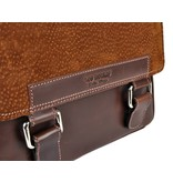 Los Robles Polo Time San Telmo - crossbody bag - carpincho - brown