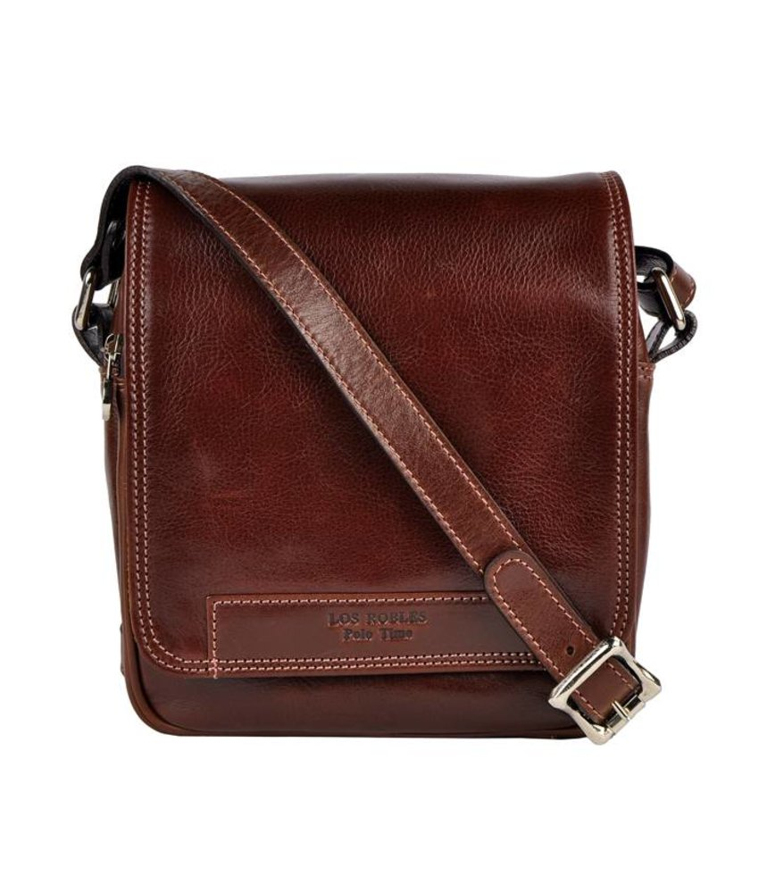 Los Robles Polo Time San Cristóbal - crossbody bag - brown - unisex