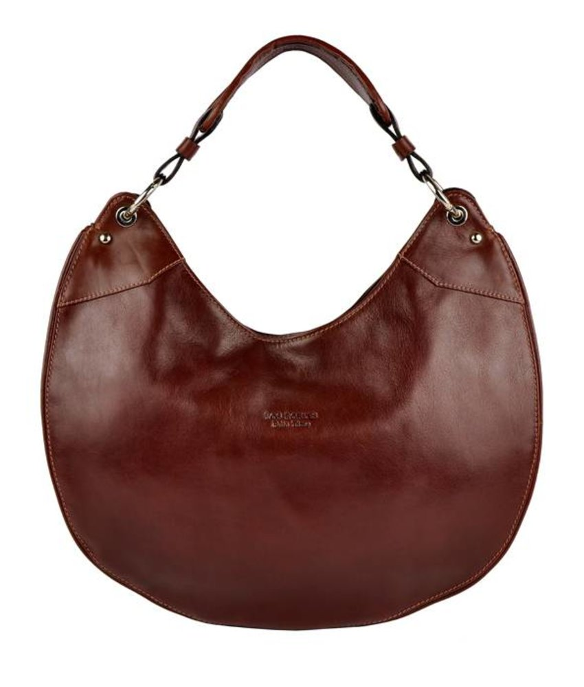 Los Robles Polo Time La Boca - shoulder bag - red brown