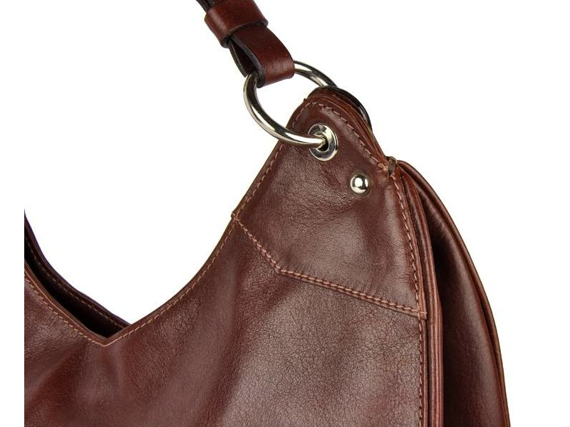 Los Robles Polo Time La Boca - shoulder bag - red brown
