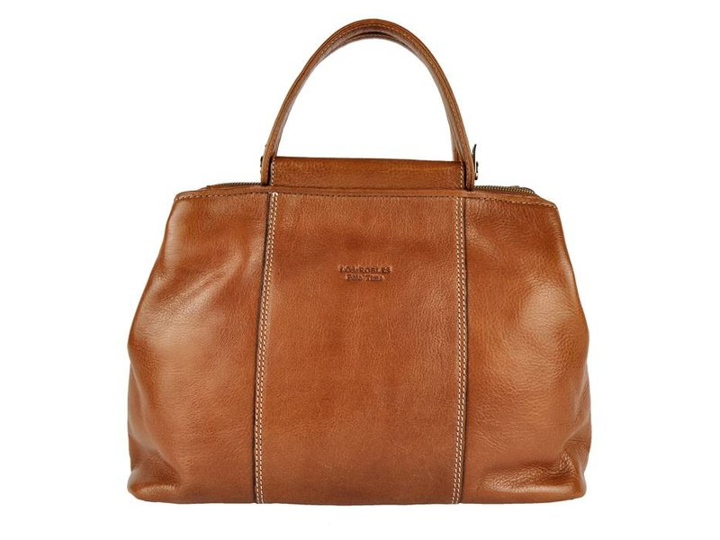 Los Robles Polo Time Madero - handbag - brandy