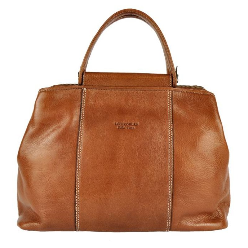 Los Robles Polo Time Madero - handbag - brandy