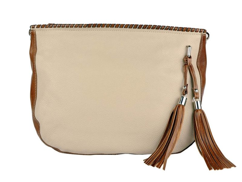 Los Robles Polo Time Avellaneda - shoulder bag - off white