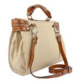 Los Robles Polo Time Recoleta - handbag - off white