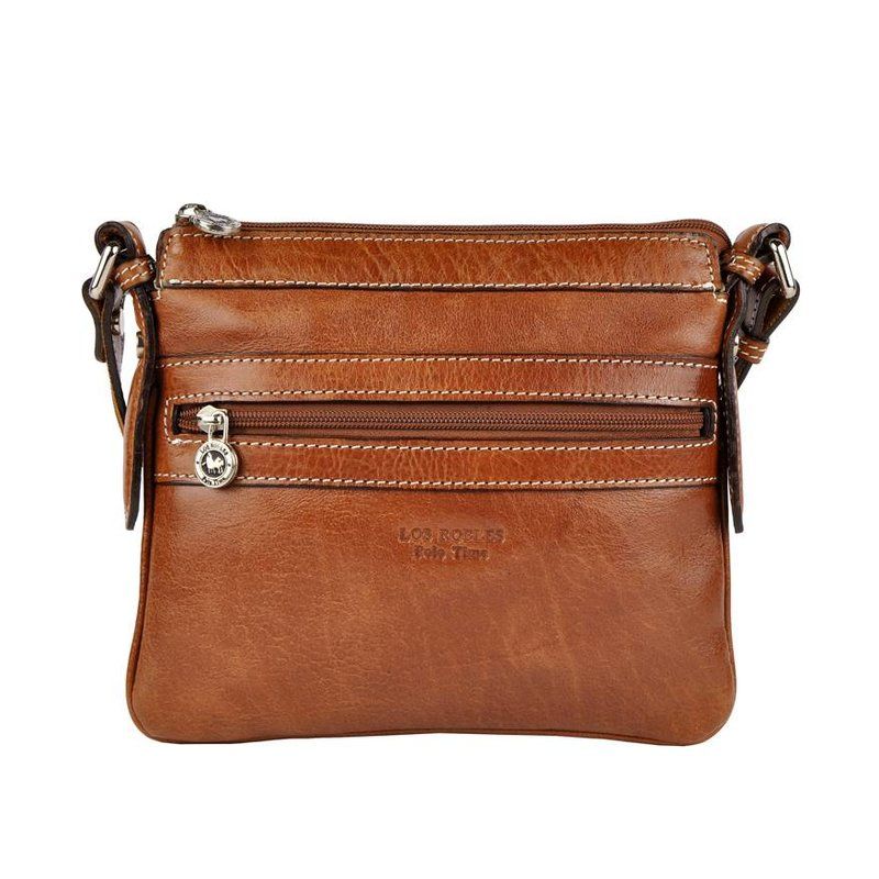 Los Robles Polo Time Caballito - crossbody bag - brandy