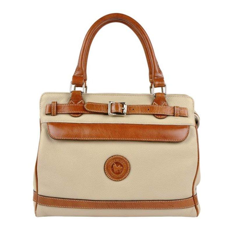 Los Robles Polo Time Floresta - handbag - off white