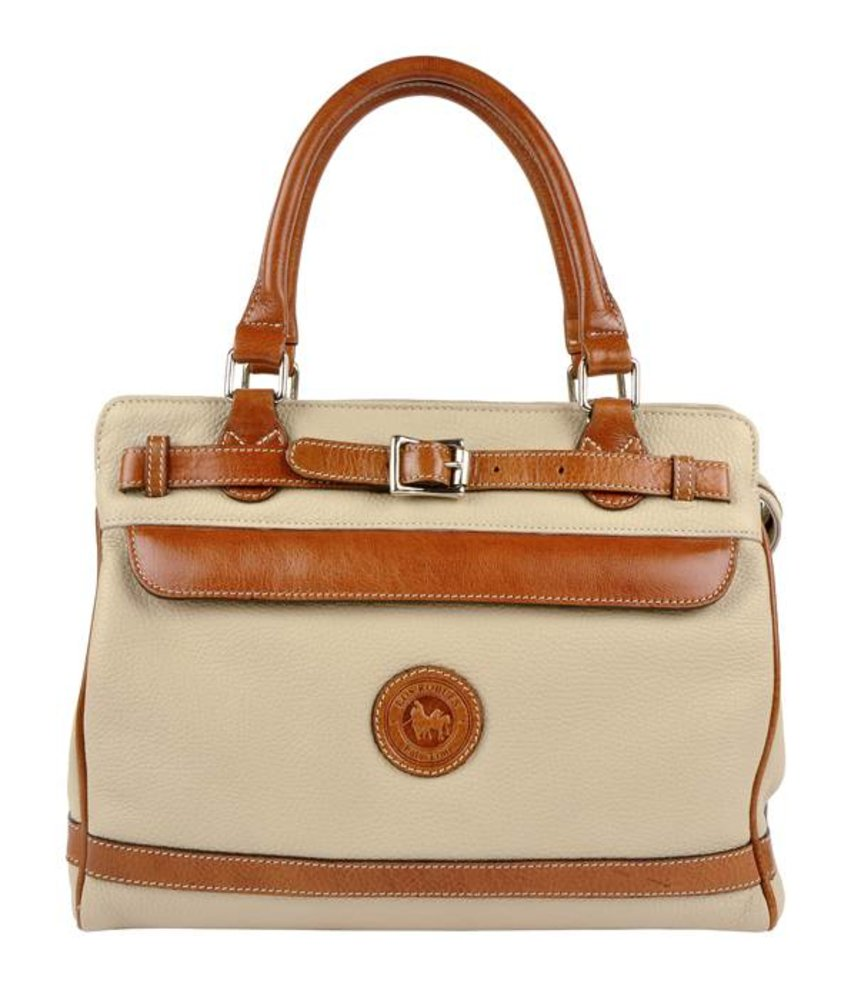 Los Robles Polo Time Floresta - handbag - off white