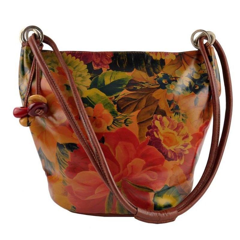 Damare Flor Martina - schoudertas - bloemenprint