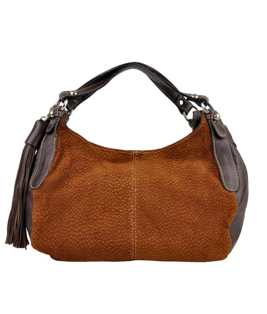 Florencio Varela - handbag - carpincho - brown