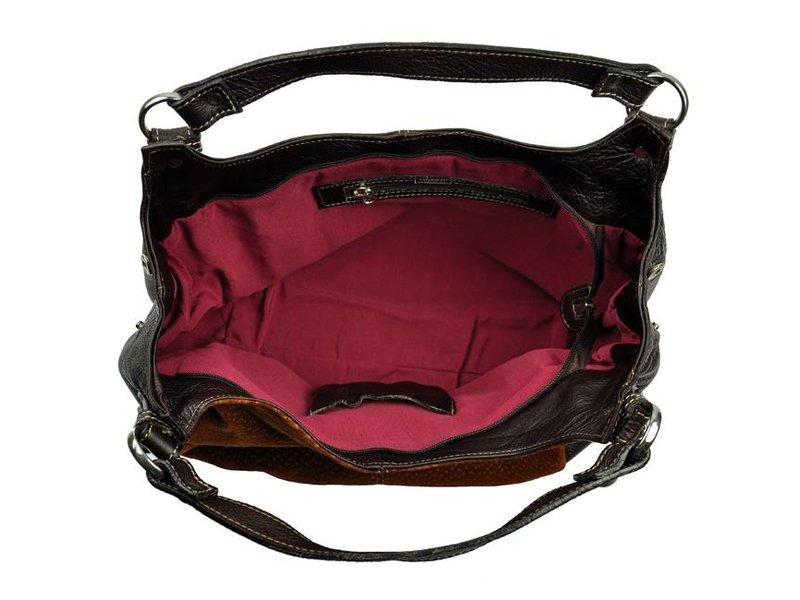 Florencio Varela - handbag - carpincho - brown