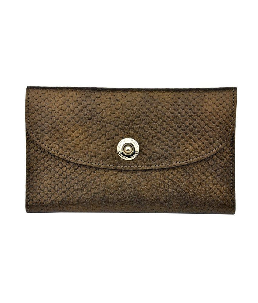 Peter Kent Monti - purse - bronze/green