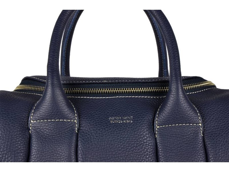 Peter Kent Lyon - handbag - dark blue