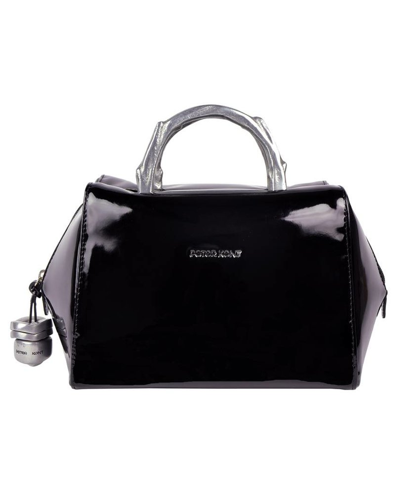 Peter Kent Baulito Amsterdam - handbag - black - patent leather