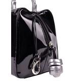 Peter Kent Baulito Amsterdam - handbag - black - patent leather (charol)
