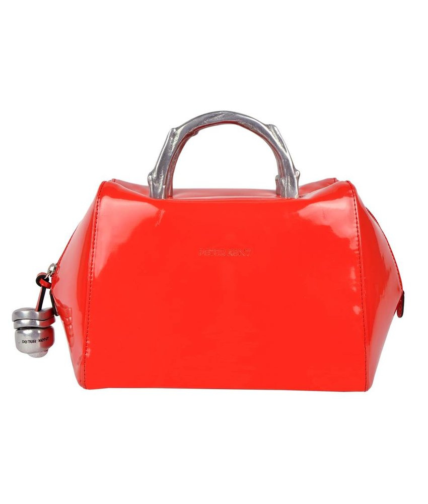 Peter Kent Baulito Amsterdam - handbag - red patent leather