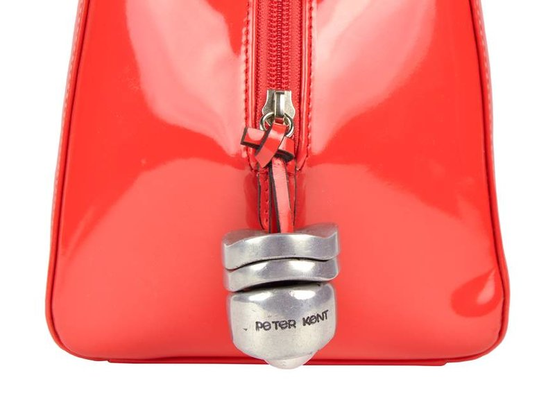 Peter Kent Baulito Amsterdam - handtas - rood lakleer (charol)