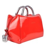 Peter Kent Baulito Amsterdam - handbag - red patent leather (charol)