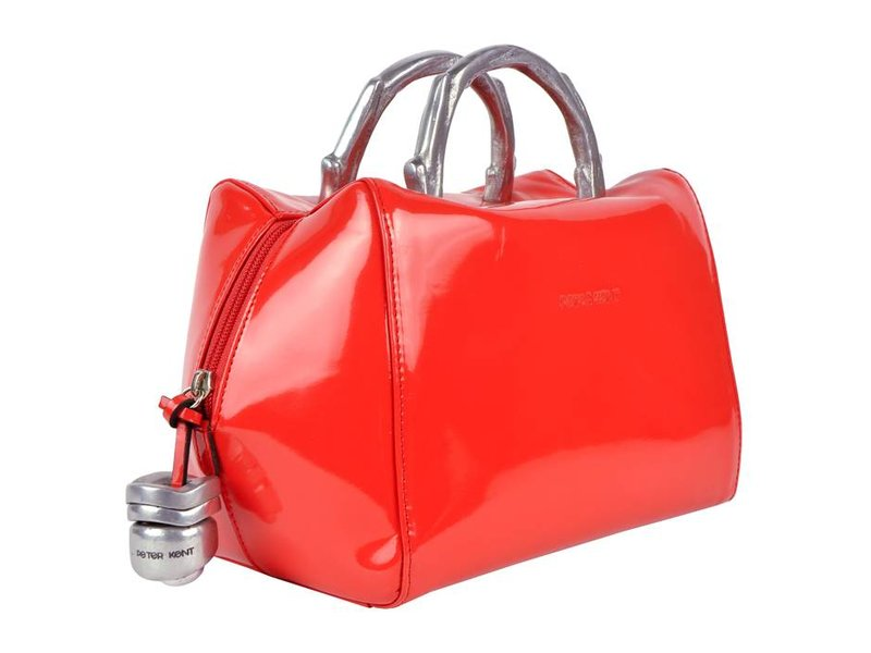 Peter Kent Baulito Amsterdam - handbag - red patent leather (charol)