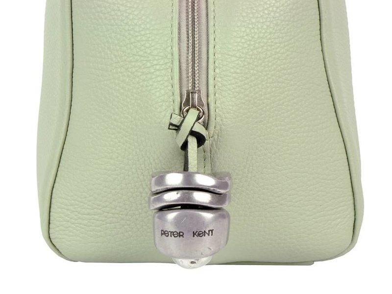 Peter Kent Baulito Amsterdam - handtas - pastel groen (mint)