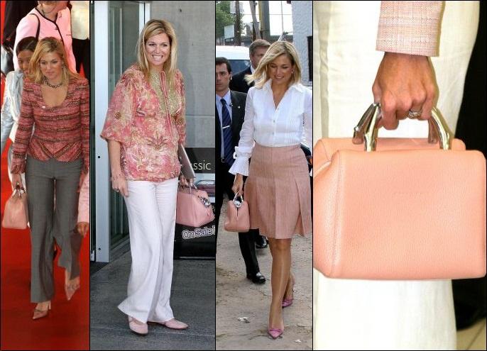 Queen Máxima | pink handbag Baulito Amsterdam