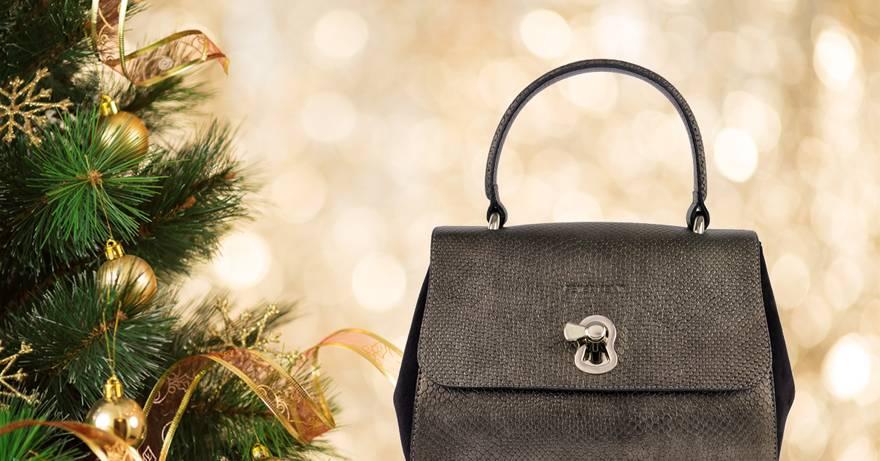 Inspiratie: chique tas voor de feestdagen.