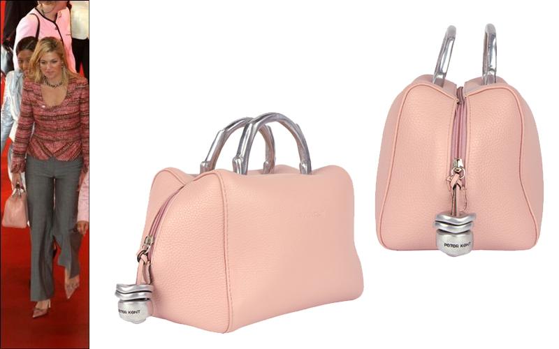 c5c54165275 The pink Máxima bag: Baulito Amsterdam by Peter Kent - Fachera.nl
