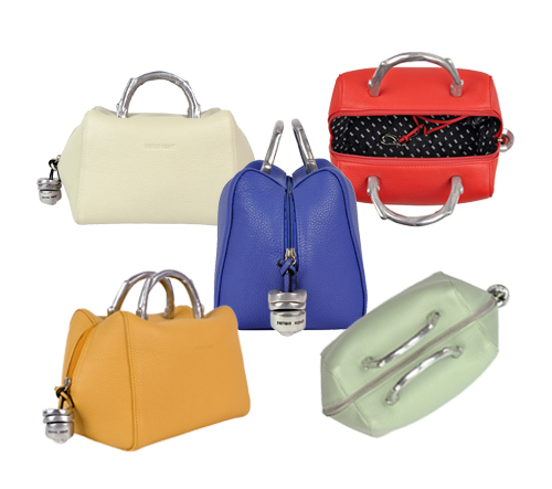 7e340fcf7ab Already in love with this compact designer handbag? Check out all our  colors of the Baulito Amsterdam ▻