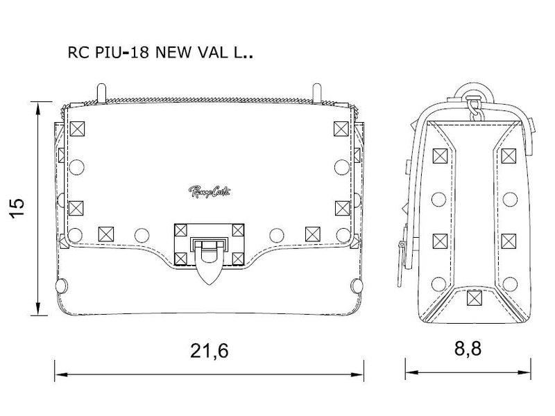 Renzo Costa RC PIU-18 NEW VAL - schoudertas - zwart