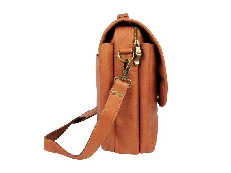 Renzo Costa ML C2607 - briefcase - brandy