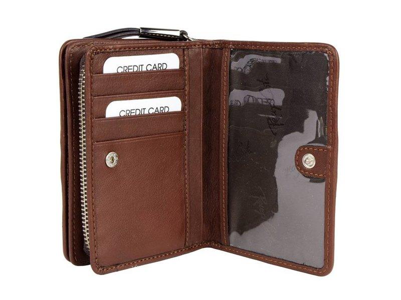 Renzo Costa WP ETR-18 2448586 - women's purse - brown