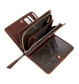 Renzo Costa WP ETR-18 2448586 - dames portemonnee - bruin