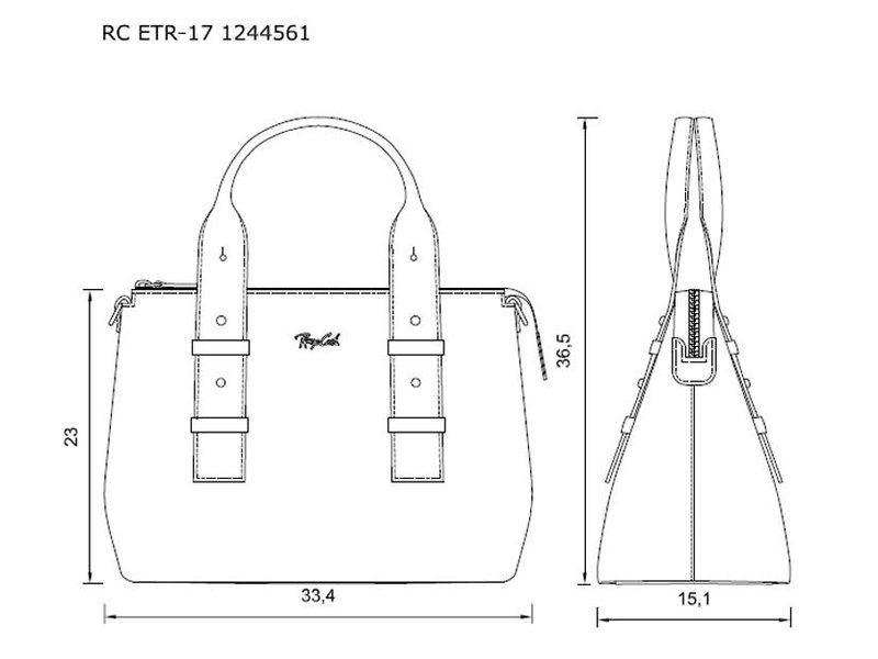 Renzo Costa RC ETR-17 1244561 - handtas - camel