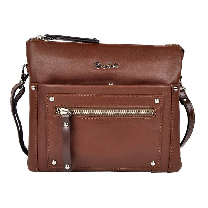 Renzo Costa ETR-16 584316 - shoulder bag - dark brown