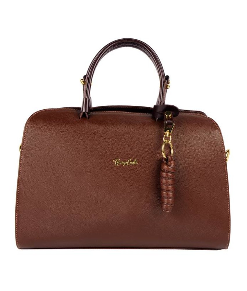 Renzo Costa RC 1705  - handbag - dark brown