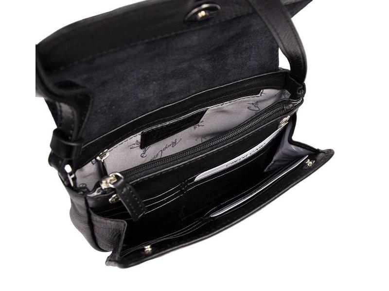 Renzo Costa  ETR-15 584512 - schoudertas - zwart
