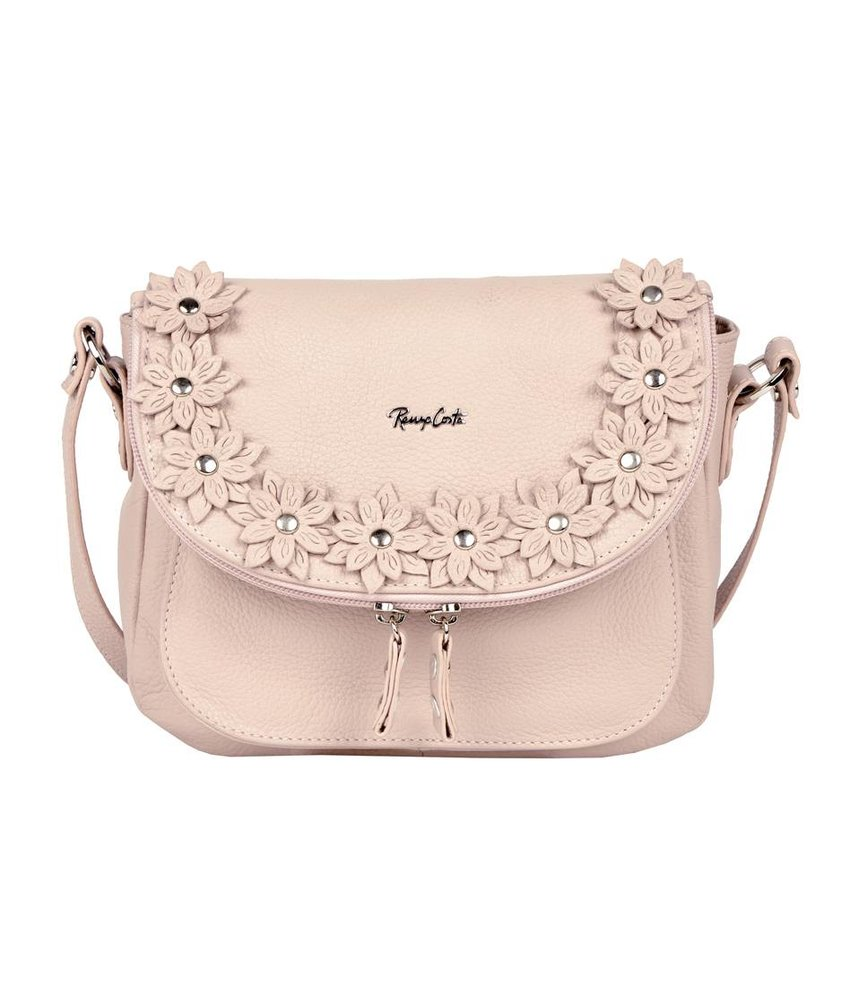 Renzo Costa 1412A - shoulder bag - light pink