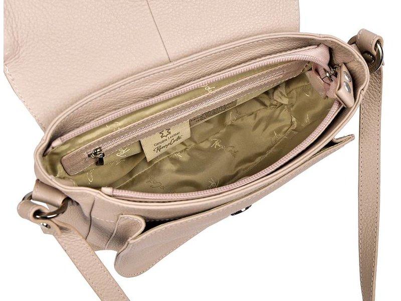 Renzo Costa 1412A - shoulder bag - light pink (nude)