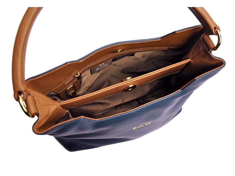 Renzo Costa RC 1806 - handtas - blauw