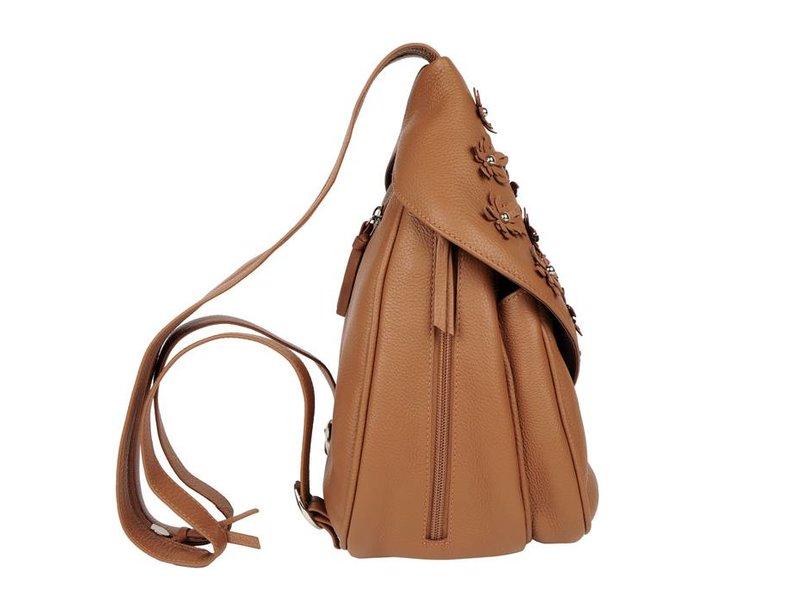 Renzo Costa MC 1802 - women's backpack - brown